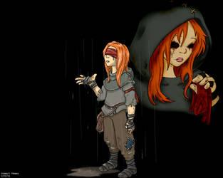 Alice Dark Rain by Stewi