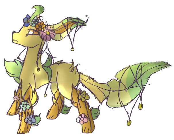 Mega Leafeon by LeafeonGaming