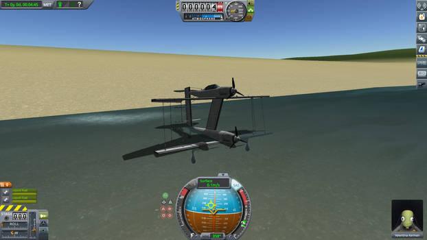 ME 109 ZZ Waszumteufel After Flight Testing