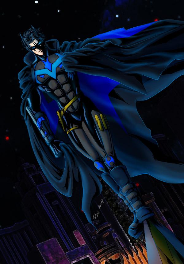 Dick Grayson: Batman 2.0 by Rai-daydreamer