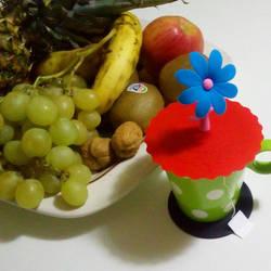 Tea and Fruit by phoebez