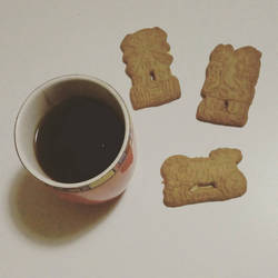 Tea and Almond Biscuits by phoebez