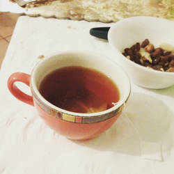 Red Tea at Baby Shower!
