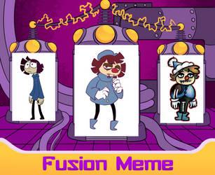enCCore Fusion Meme: Ghaul and Lambert by xrsjaru