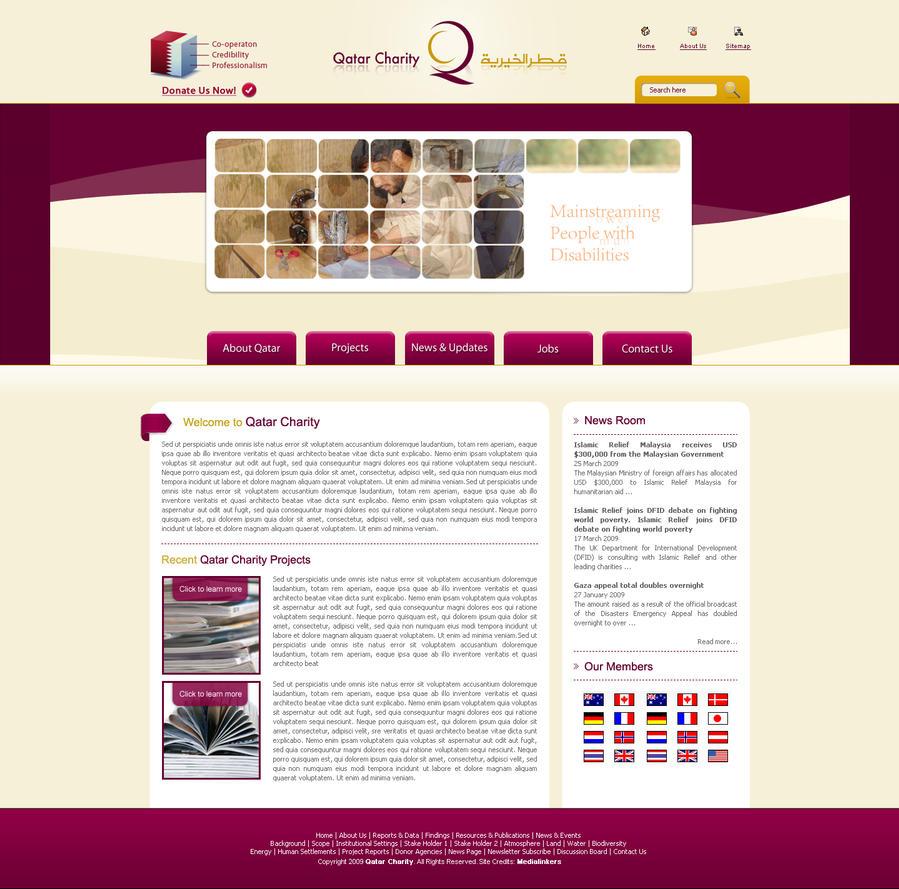 Qatar NGO by bilalm
