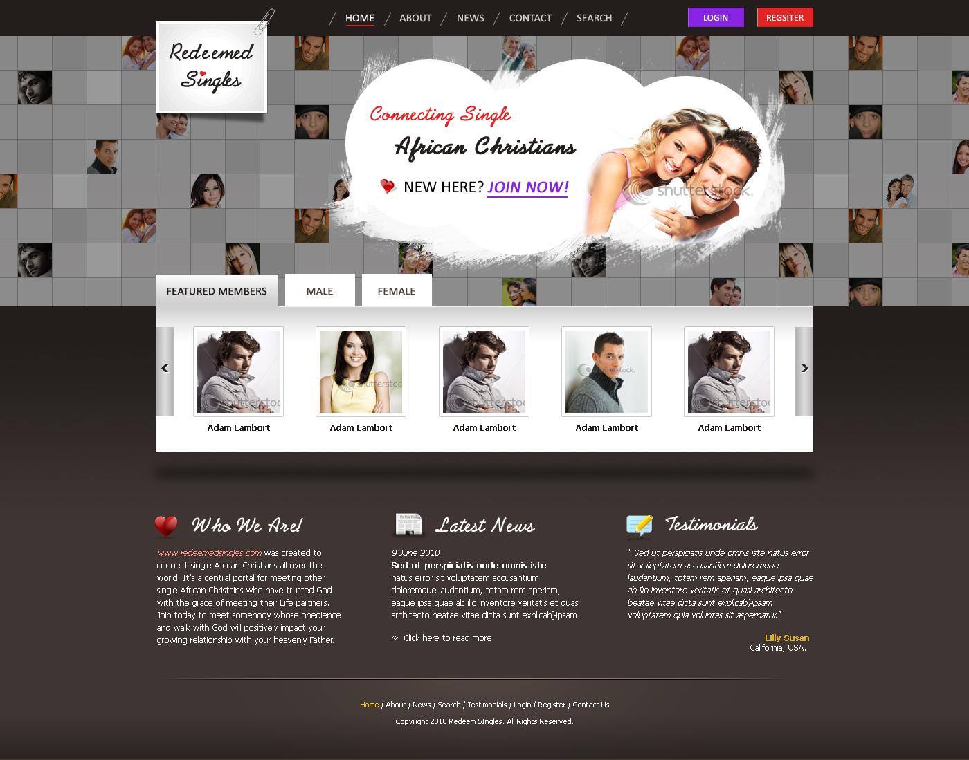 Dating Design by bilalm on DeviantArt