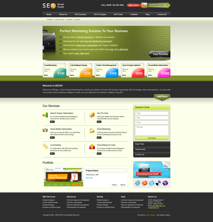 seo mockup by bilalm d37r9za Web Interface Showcase of Inspiration