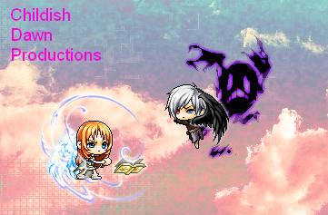 Angel vs Demon by ChildishDawn