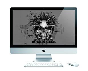 Peace Love RockinGeek by loveisickprojekt