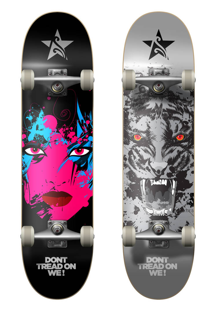 Skateboard Design by loveisickprojekt