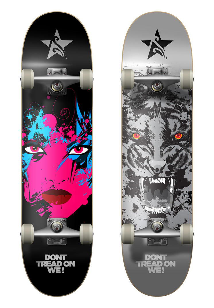 Skateboard Design by loveisickprojekt