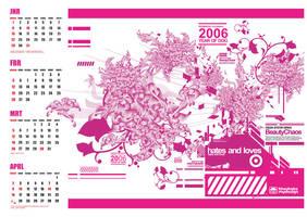 new calendar ''BEAUTY CHAOS'' by loveisickprojekt