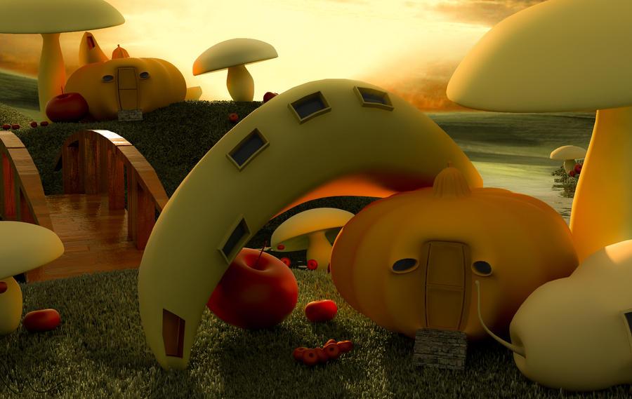 Fantasy World Fruitga by LordCasstiel
