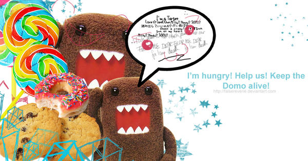 the hungry domo by falsereverie