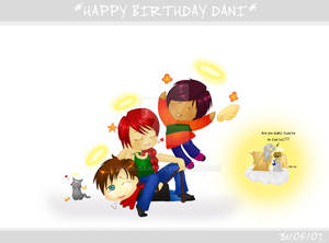 Happy Birthday Dani :3