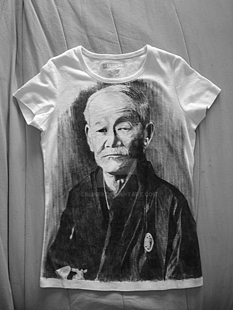 Tee shirt Jigoro Kano by Celine9
