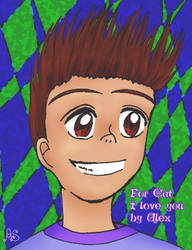 Anime style Sheen by AlexSakura