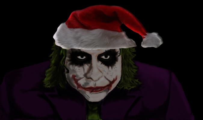 Joker Christmas.Christmas Joker By Oldirrtydoogz On Deviantart