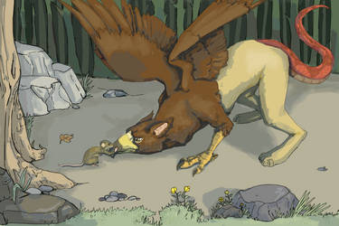 Gryphon And Mouse