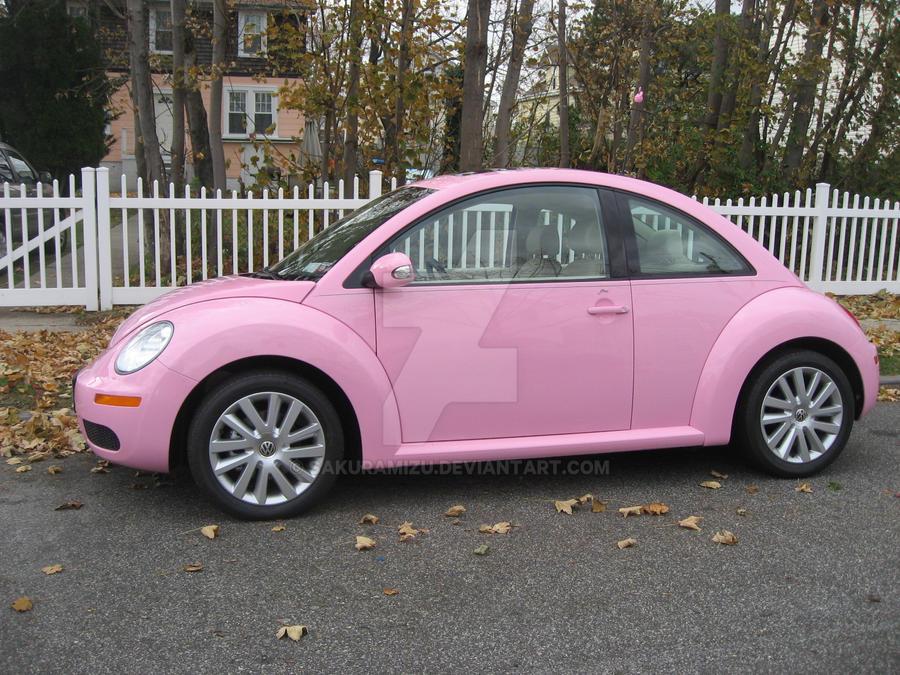 my pink vw beetle by sakuramizu on deviantart. Black Bedroom Furniture Sets. Home Design Ideas