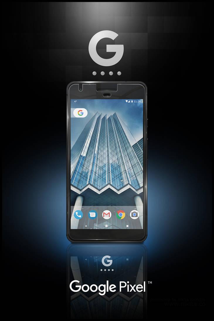 Google Pixel XL  - Photoshop