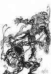 Carnage V Spider-Man by ChrisMilesC