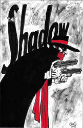 The Shadow Inked by ChrisMilesC