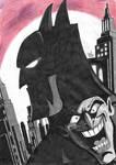 Animated series Batman and Joker