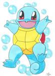 Pokemon Squirtle  by ChrisMilesC