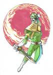 Green Ranger after Kris Anka