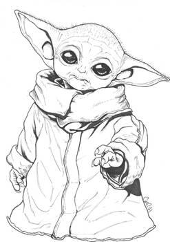 Baby Yoda AKA Grogu (For Mothers day)