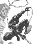 Symbiote Spiderman after Ron Lim