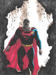 Oldschool Superman after Alex Ross  by ChrisMilesC