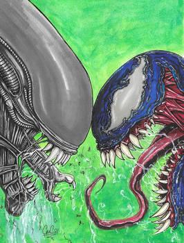 Venom vs Xenomorph after Ryan Brown