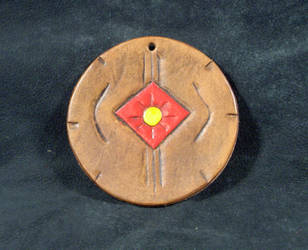 Native Eye Sun Symbol Medicine by wolfsax
