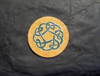 Celtic Knot Coaster by wolfsax