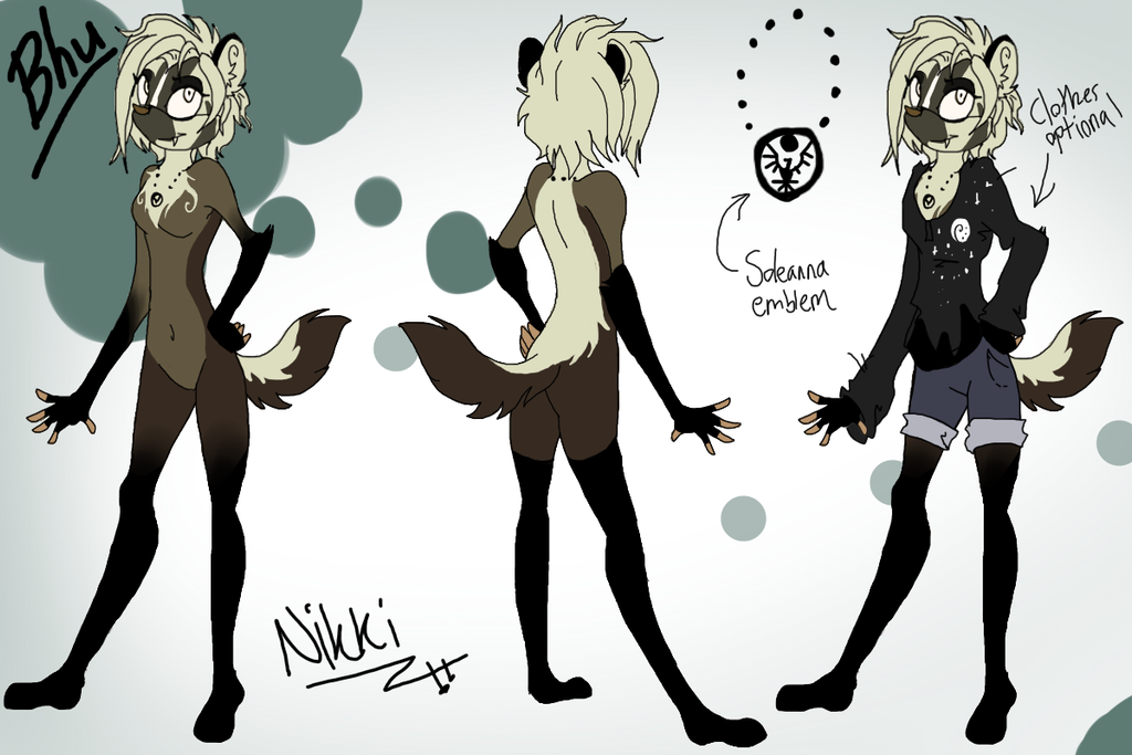 Bhu the Badger by Sharks-want-HUGS