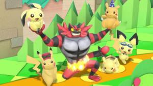 Smash Bros Ultimate: Incineroar by ThomasandStanley