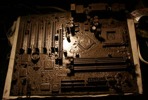 My First Motherboard by ferrhousulfate
