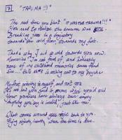 Whipple Sonnet 7: TRAUMA by ferrhousulfate