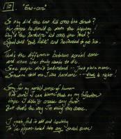Whipple Sonnet 10: Emo-core by ferrhousulfate