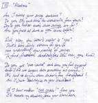 Whipple Sonnet 11: Albatross