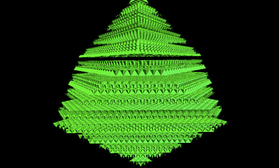 X,y,z-mas tree by ferrhousulfate