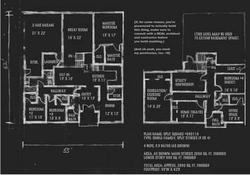 Split Square, Floor Interior by ferrhousulfate