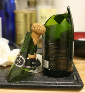 New Year's Champagne FAIL