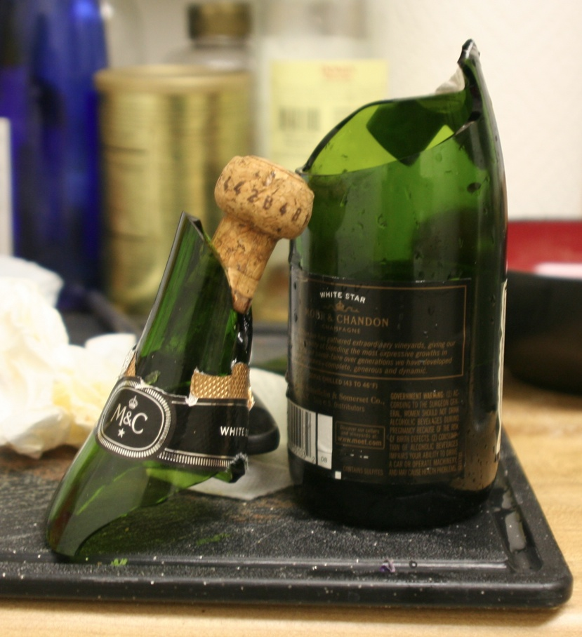 New Year's Champagne FAIL by ferrhousulfate