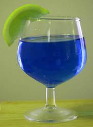Green Lemon Blue by ferrhousulfate