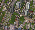 Suburban Greenery by ferrhousulfate