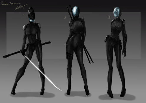 Female Assassin 1st stage