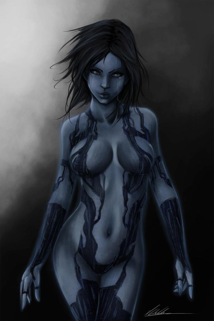 Cortana by Tr1gg3r117